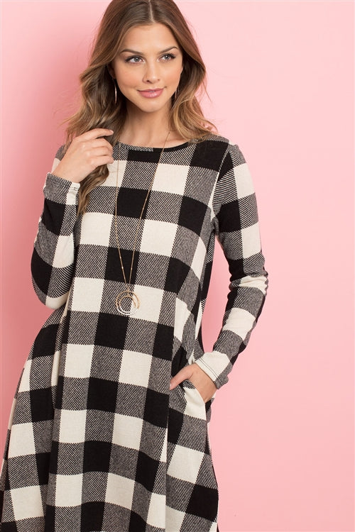 Buffalo Wow Plaid Dress