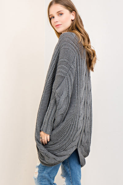 Right on Ribbed Sweater