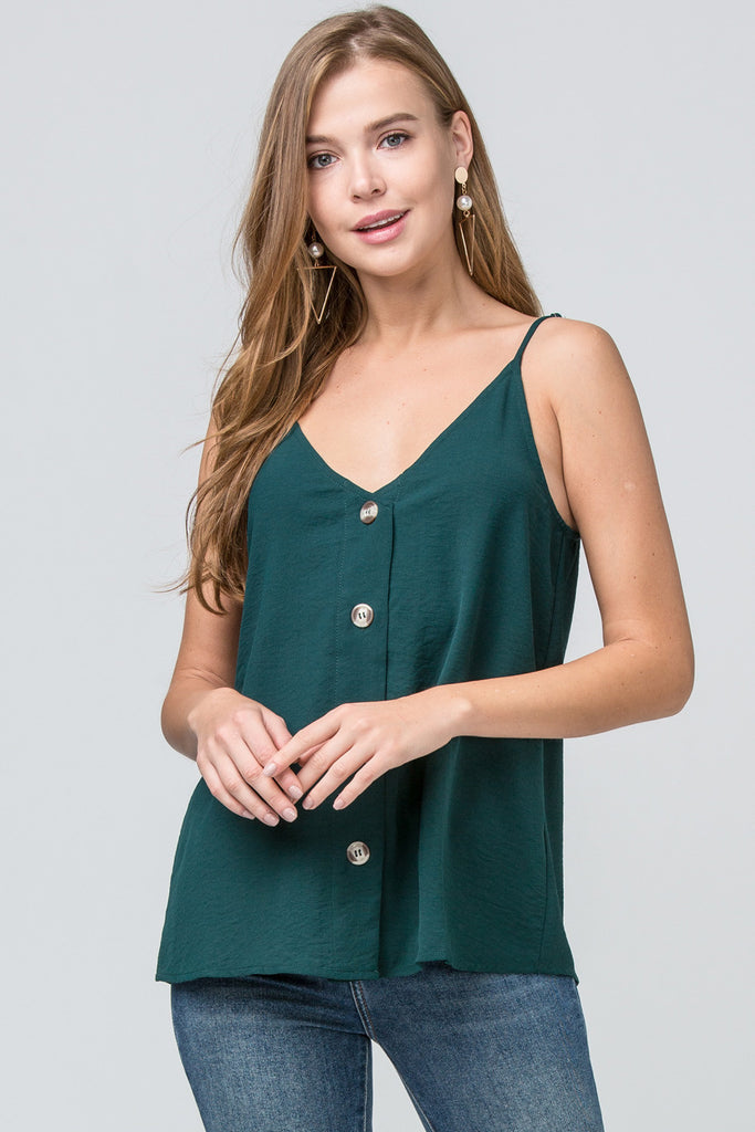 Hot in Hunter Green Camisole