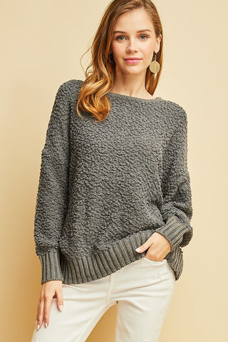 Bare The Back Sweater