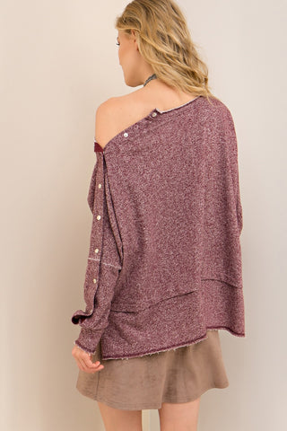 Cool & Casual Versatile Sweater