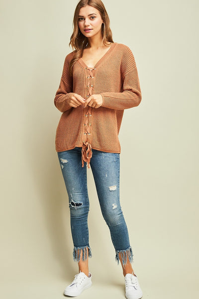 Ready For It Sweater - Desert Sand