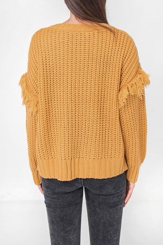 flying fringe sweater