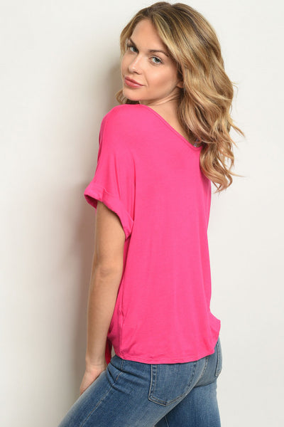 Fun Fun Fuchsia Top