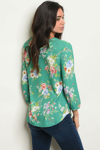 Fresh and Floral Top