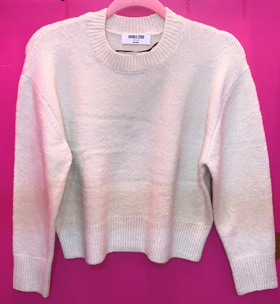 Classic Ivory Pullover Sweater