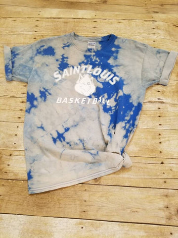 Saint Louis Billikens Basketball Tie Dye Tee