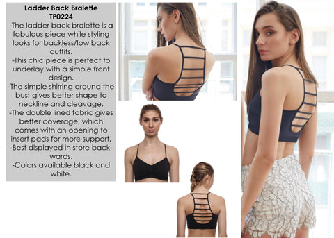 Seams Lovely Ladder Back Bralette