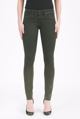 Articles of Society MYA - Dark Olive Skinny Jeans