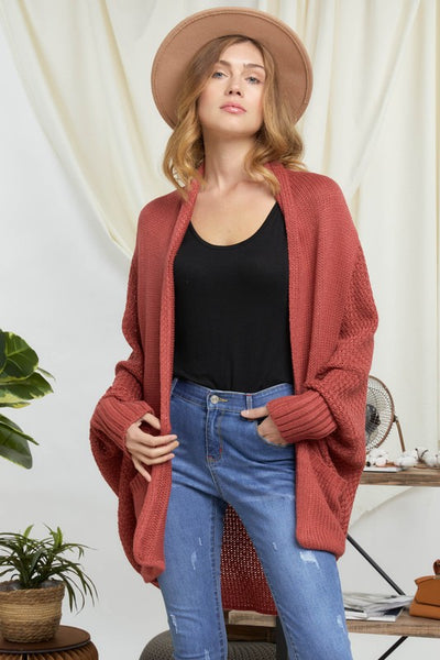 Dolled in Dolman Cardigan