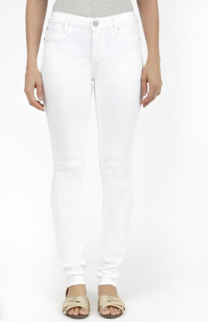 Articles of Society White Distressed Jeans- Sarah