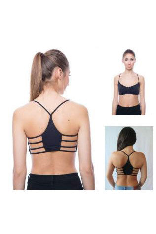Seams Lovely Sidestrap Bralette - Double Layer