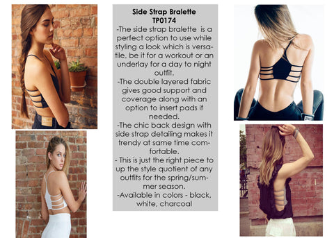 Seams Lovely Side Strap Bralette