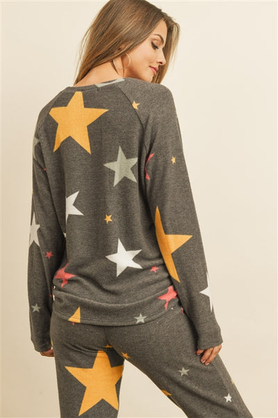 multi color star jogger