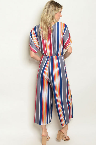 Sexy in Stripes Jumpsuit