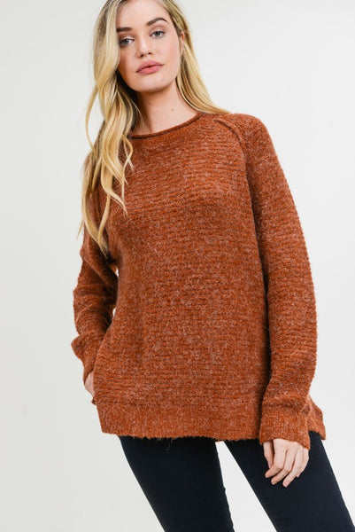 sugar almond sweater top