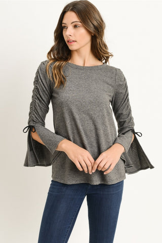 Mini Bell-Sleeve Top
