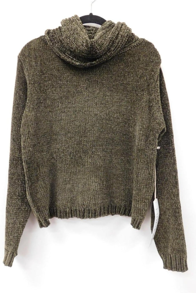 Turtleneck Chenille Sweater