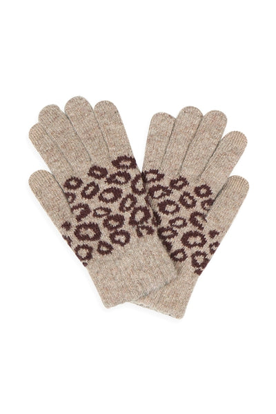 Leopard Smart Tip Gloves