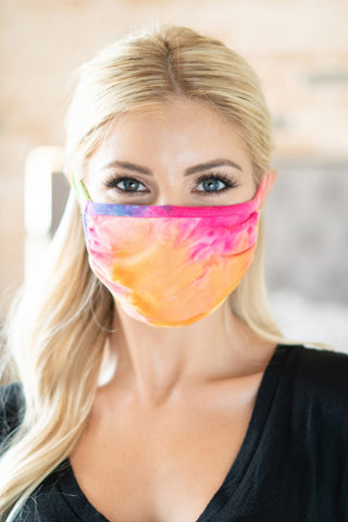 Tie Dye Reusable Face Mask