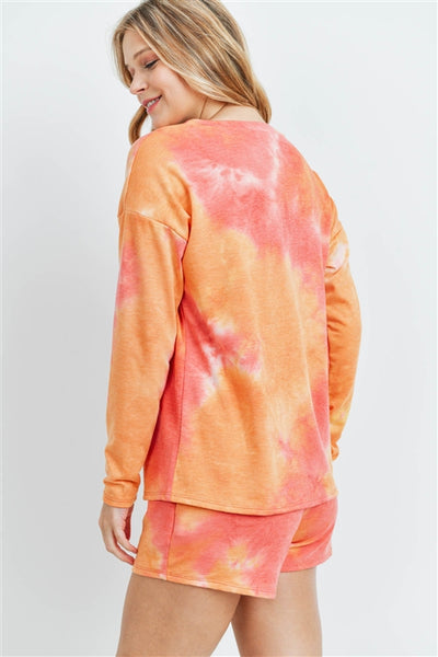 long sleeve tie dye set