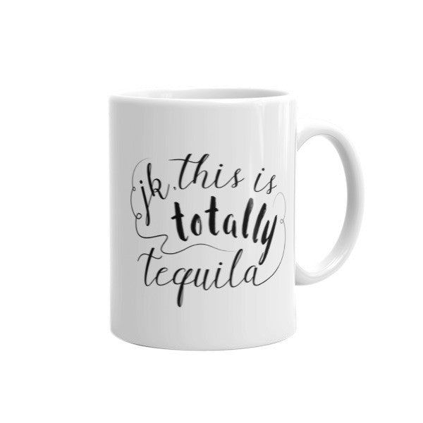 coffee (jk, this is totally tequila)