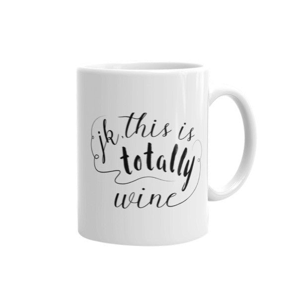 coffee (jk, this is totally wine)