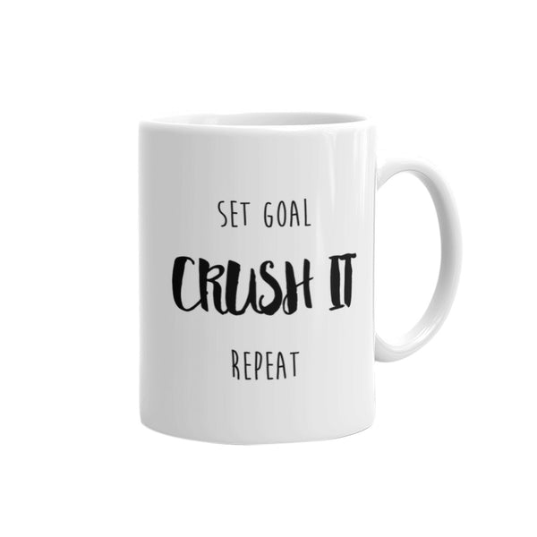 the crush it mug