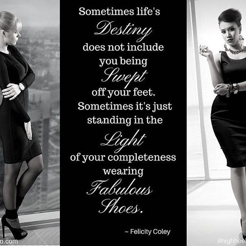 Heelho-High Heel Quote