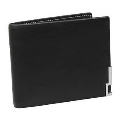 Mens Genuine Leather Wallet - Black