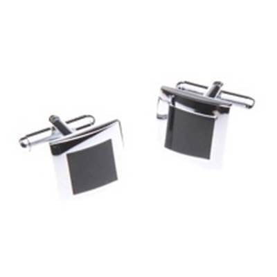 Cufflinks - Black Square
