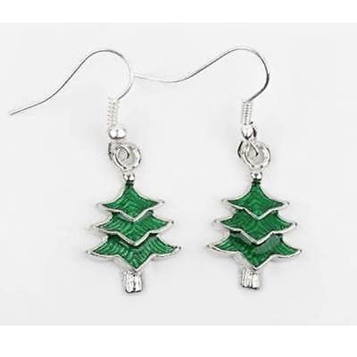 Christmas Earrings - Christmas Tree