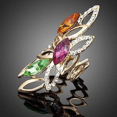Crystal Ring 'Forest'