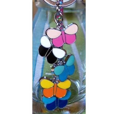Keyring - Colourful Butterflies