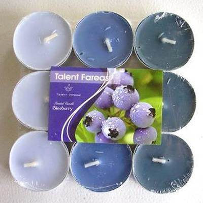 Scented Tea Light Candle Set - Blueberry