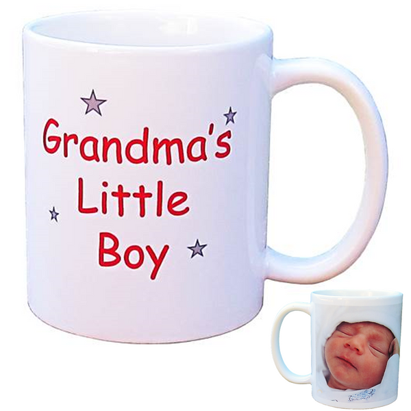 Personalised Photo Mug - Grandma's/Nanna's Little Boy