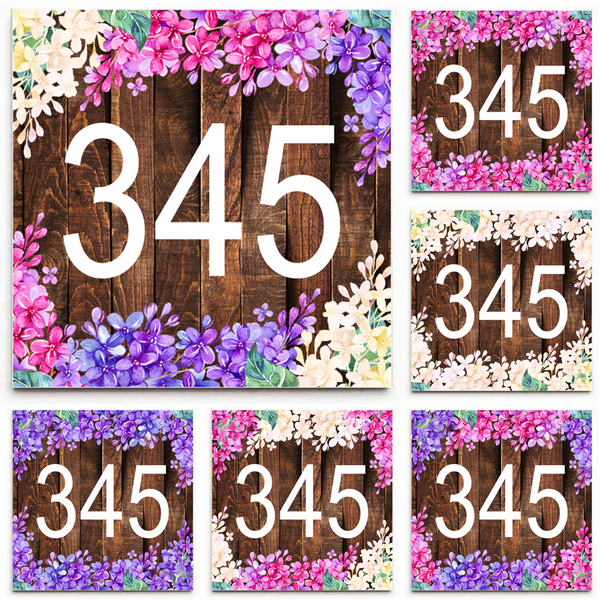 House Numbers House Address Signs Address Sign Street Number - Ceramic street numbers