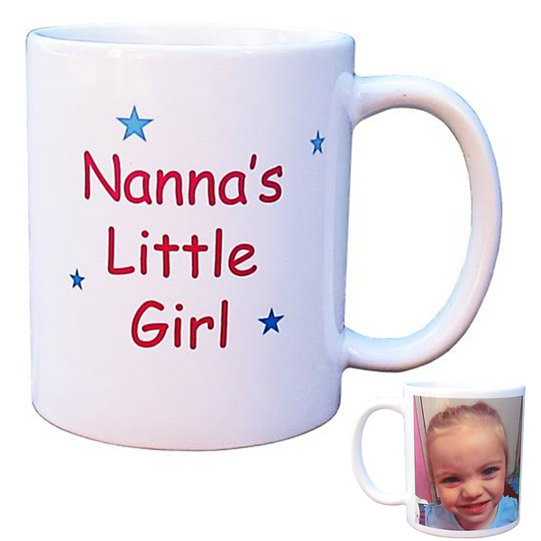 Personalised Photo Mug - Grandma's/Nanna's Little Girl