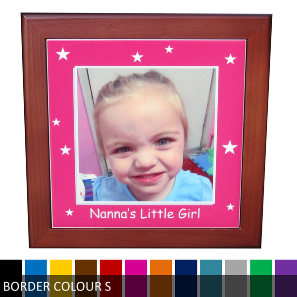 Personalised Photo Ceramic Tile Print - Grandma's/Nanna's Little Girl/Boy