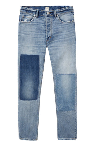 Dark Patchwork Jean