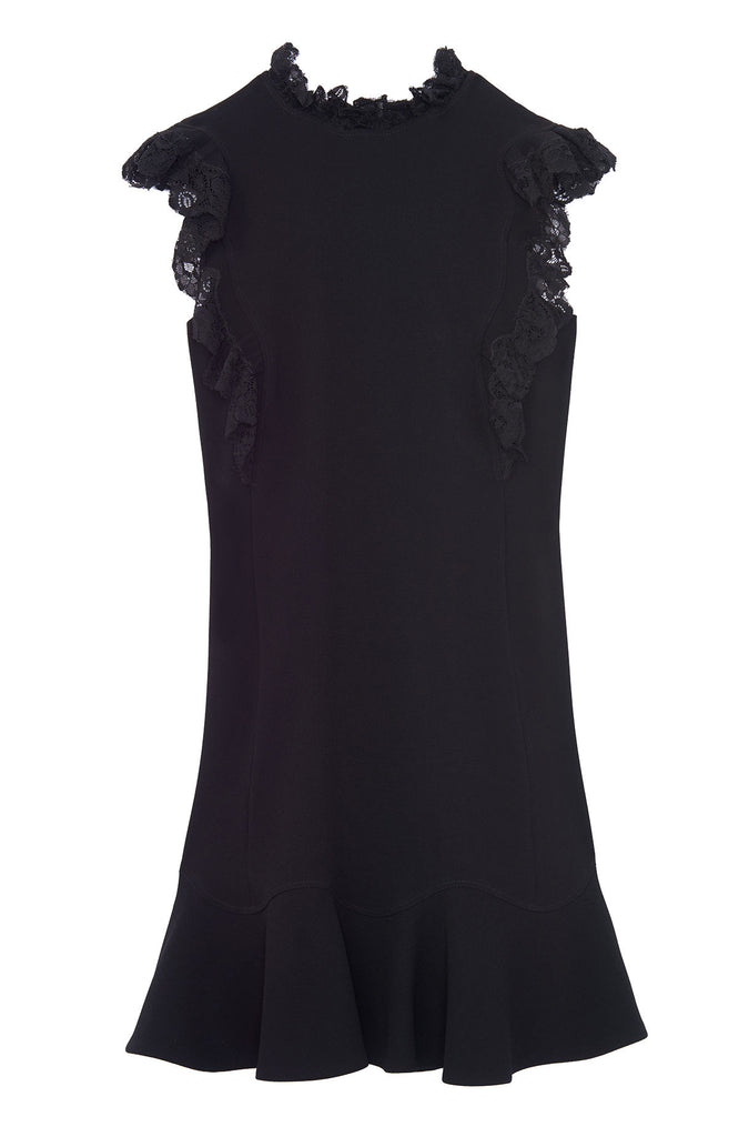 Crepe Lace Dress - Lex & Lynne
