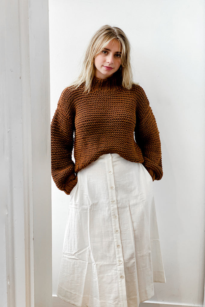 Café Cotton Sweater