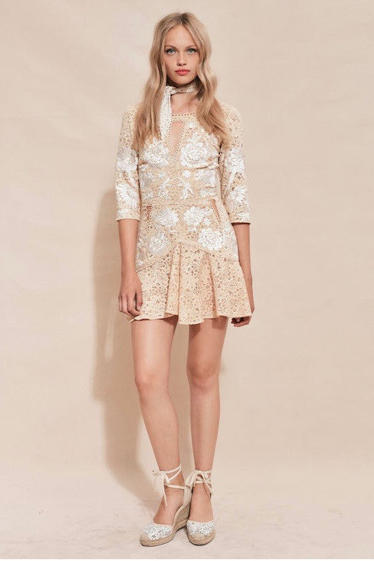 Mallorca Embroidery Dress - Lex & Lynne