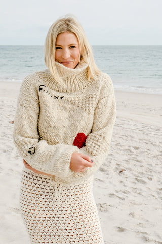 From the Heart Sweater 100% Sustainable Sweater - Lex & Lynne