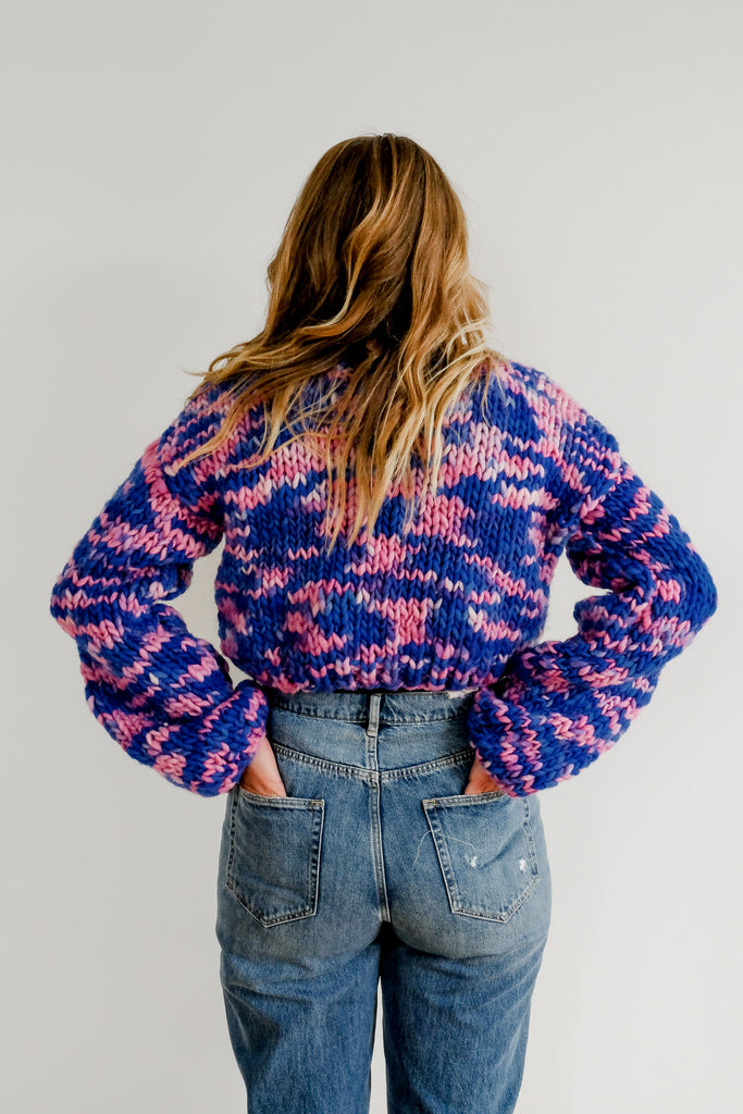 Hand-Painted Sustainable Sweater