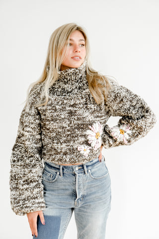 Pepper Floral in Multi 100% Sustainable Sweater