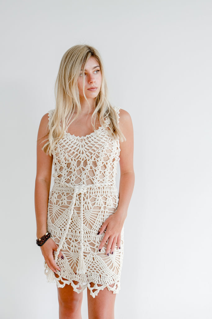 Open Weave Dress