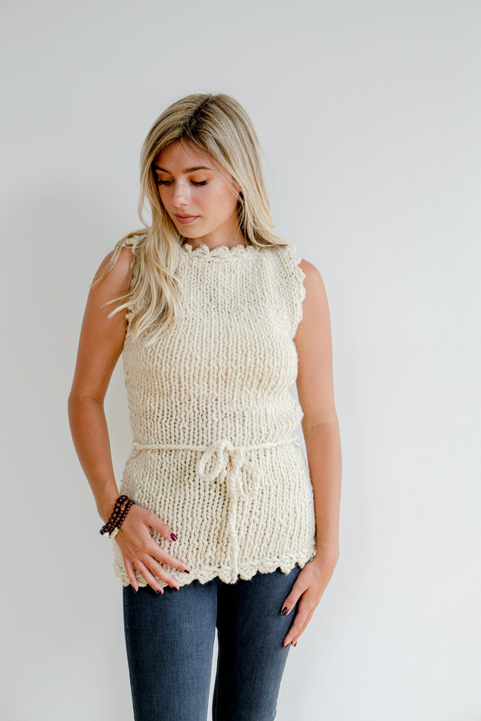 Sustainable Sweater Vest