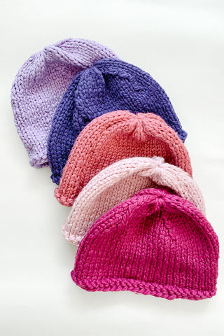 Dusty Rose Beanie