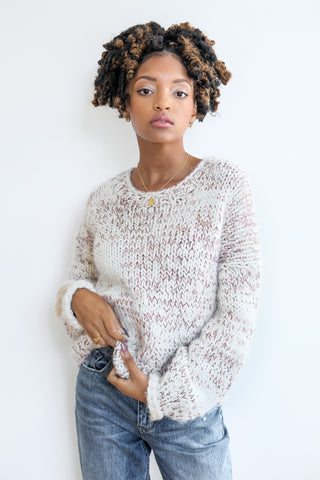 Café Crewneck Sweater